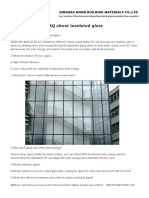 FAQ About Insulated Glass