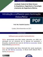 16-Introdução a softwares para iluminação Dialux-Relux
