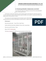 Wr70 Slim Profileframe Windows System