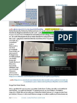 Warunki zycia w Polsce zrownaly sie M36 ALKOHOLFREIE WEINACHTEN PDNIX von SK an die Leiterin des AfW SSetKh 20191224 ME SOWA KAI KLOSE