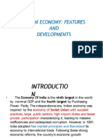 INDIAN ECONOMY AND FEATURES.pptx