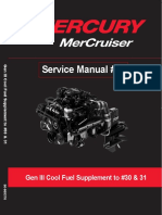 Mercruiser Service Manual 40 Gen III Cool Fuel Supplement