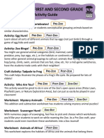 SFZoo Activity Guide