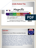 Australia Student Visa Consultancy in Hyderabad