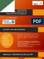 Capacitacion de EPP