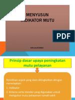 01. MATERI PMKP (PENYUNSUNAN INDIKATOR MUTU )