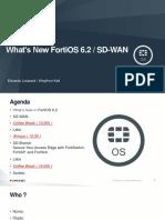 Fft - What's New Fortios v6.2 _sd-Wan_kk_v1