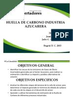 Huella Carbono Industria Azucarera_Definitivo