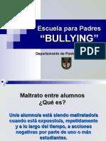 Escuela para Padres - Bullying