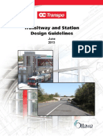 June 2013 Transitway design guidelines
