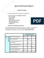 Software Engineering Project Report