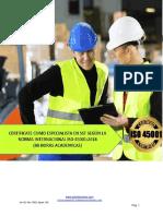 INTERPRETACIÓN  E IMPLEMENTACIÓN DE LA NORMA INTERNACIONAL ISO 45001-2018