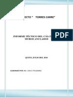 MUROS ANCLADOS - Informe