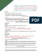 PROGRAMME D'ACTIVITE DU STAGE 3 MOIS JUILLET-SEPT-2019