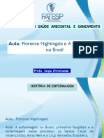AULA- Florence Nightingale História da Enfermagem no Brasil