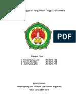 Angka Pengangguran Yang Masih Tinggi Di Indonesia.docx