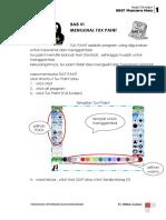 modul TIK`1 Tuxt Paint