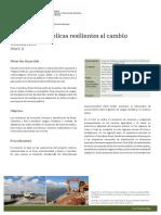 GIZ. Poyecto IPACC-II. Inversiones públicas resilientes al cambio climático.