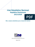 Plan Estadístico Nacional 2013-2016web