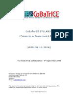 IC CoBaTrICE Syllabus(All) v1.0 2006