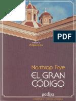 Frye, Northrop - El Gran Código. Una lectura mitológica y literaria de la Biblia.pdf