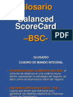 Glosario BSC