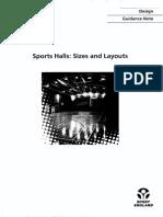 Sports Halls-Sizes & Layouts