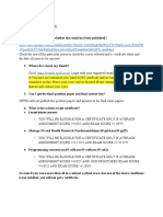 FAQ - Sep 29,2019 Exam