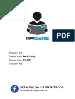 Unit 3 - Data Mining - www.rgpvnotes.in.pdf
