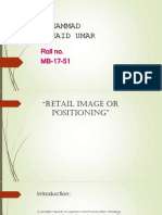 Retail Management strategies