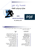 MRM Maturity Road Mapping