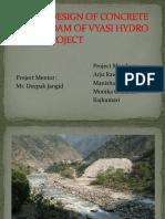 design of gravity dam COMPLETE