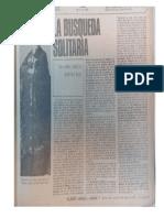 Juan Carlos Martini Real sobre Macedonio Fernández 1976