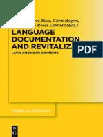 LENGUAJE DOCUMENTATION AND REVITALIZATION Gabriela Prez Bez, Chris Rogers, Jorge Emilio R.pdf