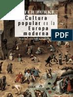 Peter Burke - Cultura popular en la Europa moderna.pdf