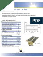Sunlinq 30watt Spec Sheet