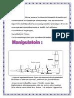 Déterminer le débit c (1) (2)