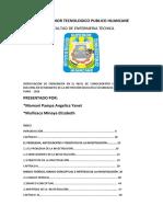 INSTITUTO SUPERIOR TECNOLOGICO PUBLICO HUANCANE ENFERMERIA TA