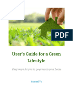 Tips for a Green Lifestyle.docx