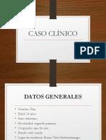 CASO CLÍNICO. VIH