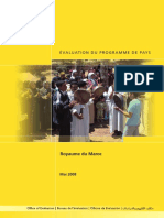 0819evaluation Du Programme de Pays (2008)o