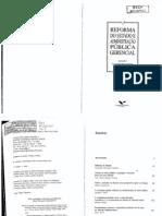 Avancos e Os Dilemas Do Modelo Pos-burocratico Abrucio