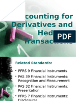 Accounting for Derivatives and Hedging-Transactions