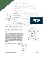 Analog Multiplier