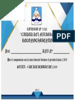 CERTIFICADO 5021