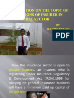 Obligations Of Rural Insurance In India