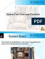 System Unit Parts and Function