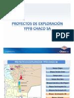 Bloques Exploración YPFB Chaco SA