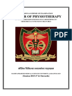 Master of Physiotherapy
