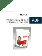Procesul de Fabric a Tie a Fainii Albe (Proiect)